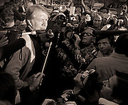 Tuesday, November 2, 1976, was like so many days before, with one exception. On his walk to the family business, Jimmy Carter stopped to vote in the 1976 general election, where he found himself at the top of the ballot for the office of president of the United States.