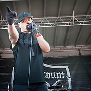 Body Count performing at Mayhem Festival in Bristow, VA on August 8, 2014.