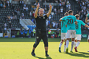 Forest Green Rovers assistant manager, Scott Lindsey during the EFL Sky Bet League 2 match between Notts County and Forest Green Rovers at Meadow Lane, Nottingham, England on 1 September 2018.