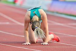 Orla Comerford, IRE competing in the T13 100m at the Berlin 2018 World Para Athletics European Championships