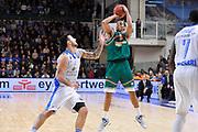 DESCRIZIONE : Eurocup 2014/15 Last32 Dinamo Banco di Sardegna Sassari -  Banvit Bandirma<br /> GIOCATORE : Sammy Mejia<br /> CATEGORIA : Tiro Tre Punti<br /> SQUADRA : Banvit Bandirma<br /> EVENTO : Eurocup 2014/2015<br /> GARA : Dinamo Banco di Sardegna Sassari - Banvit Bandirma<br /> DATA : 11/02/2015<br /> SPORT : Pallacanestro <br /> AUTORE : Agenzia Ciamillo-Castoria / Luigi Canu<br /> Galleria : Eurocup 2014/2015<br /> Fotonotizia : Eurocup 2014/15 Last32 Dinamo Banco di Sardegna Sassari -  Banvit Bandirma<br /> Predefinita :