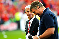 Fotball , Showkamp , Ullevaal Stadion  ,  Lørdag 7. august 2013 , <br /> Vålerenga IF - Liverpool FC <br /> Ian Rush ble intervjuet i pausa<br /> Foto: Sjur Stølen / Digitalsport