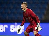 Frederik Mehder (Skovshoved IF) under kampen i 2. Division mellem FC Helsingør og Skovshoved IF den 11. oktober 2019 på Helsingør Ny Stadion (Foto: Claus Birch).