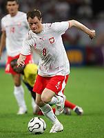 Gelsenkirchen 9/6/2006 World Cup 2006<br /> <br /> Poland Ecuador - Polonia Ecuador 0-2<br /> <br /> Photo Andrea Staccioli Graffitipress<br /> <br /> Jacek Krzynowek Poland