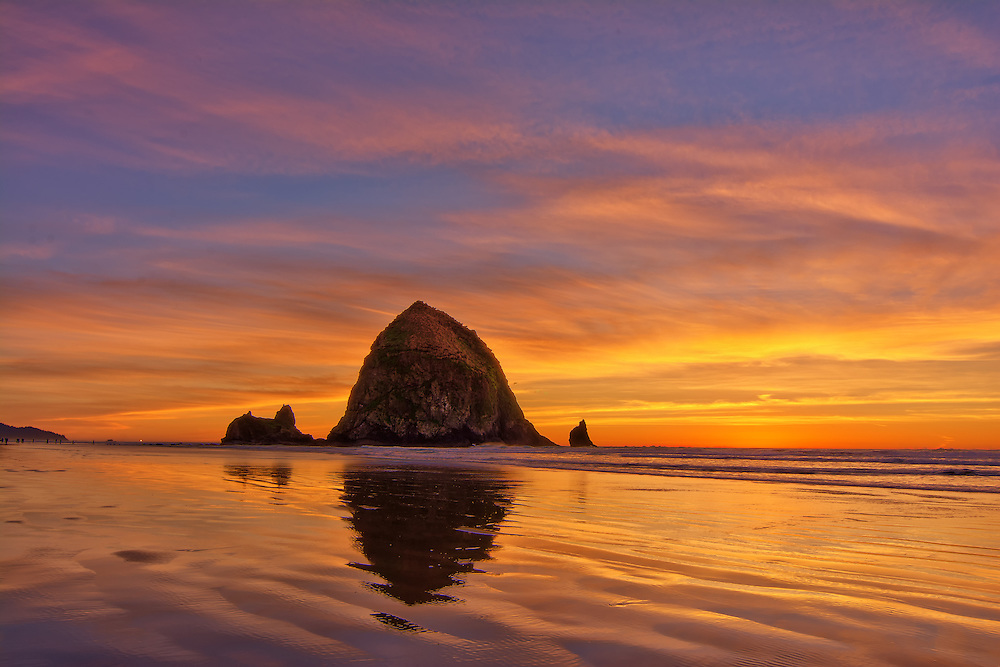 Haystack Rock, Cannon Beach, OR,