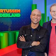 NLD/Amsterdam/20190515 - Presentatoren Ondertussen in Nederland, presentatoren Luuk Ikink en Humberto Tan