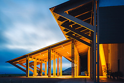 Highlighting the architecture at Byron Winery