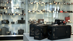 "These historic cameras are up for auction and are part of the Kaprelian camera collection...<br /> <br /> November 18, 2011 - Philadelphia, PA; An impressive collection of more than 350 old cameras will be put up for auction on Saturday, Nov. 19, 2011 at Fuller's Fine Art Auctions in Philadelphia, PA.<br /> <br /> ( A selection of photos from this collection are published with the Nov 18, 2011 article by Alan Tu on WHYY's NewsWorks.org: ""Vintage cameras to be auctioned off Saturday by Mt. Airy auction house"" - You can read the article here: http://www.newsworks.org/index.php/local//mt-airychestnut-hill/30073-vintage-cameras-to-be-auctioned-off-saturday-by-mt-airy-auction-house )<br /> <br /> The cameras were collected by Edward Kaprelian (1913-1997), who after WWII became an expert on camera and lens technology. In May 1945, the U.S. Army seized more than 2,000 Carl Zeiss lenses from Germany as ""war reparations"" and turned them over to Kaprelian, who was then serving as Chief of the U.S. Army Signal Corps Engineering Labs in Fort Monmouth, N.J. <br /> <br /> Kaprelian went on to become an avid collector of photographic equipment and materials during his lifetime and amassed a large collection of important cameras spanning the history of photography."