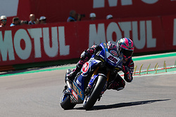 May 10, 2019 - Imola, BO, Italy - Alex Lowes of Pata Yamaha WorldSBK Team during the free practice 2 of the Motul FIM Superbike Championship, Italian Round, at International Circuit ''Enzo and Dino Ferrari'', on May 10, 2019 in Imola, Italy  (Credit Image: © Danilo Di Giovanni/NurPhoto via ZUMA Press)
