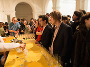 Young Patrons  at the Royal Academy, Burlington Gdns. London. 7 October 2013