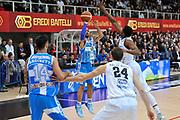 DESCRIZIONE : Campionato 2014/15 Dolomiti Energia Aquila Trento - Dinamo Banco di Sardegna Sassari<br /> GIOCATORE : David Logan<br /> CATEGORIA : Tiro Tre Punti<br /> SQUADRA : Dinamo Banco di Sardegna Sassari<br /> EVENTO : LegaBasket Serie A Beko 2014/2015<br /> GARA : Dolomiti Energia Aquila Trento - Dinamo Banco di Sardegna Sassari<br /> DATA : 15/12/2014<br /> SPORT : Pallacanestro <br /> AUTORE : Agenzia Ciamillo-Castoria / Luigi Canu<br /> Galleria : LegaBasket Serie A Beko 2014/2015<br /> Fotonotizia : Campionato 2014/15 Dolomiti Energia Aquila Trento - Dinamo Banco di Sardegna Sassari<br /> Predefinita :