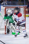 KELOWNA, CANADA - JANUARY 17:  Mini Minor Game at the Kelowna Rockets game on January 17, 2018 at Prospera Place in Kelowna, British Columbia, Canada.  (Photo By Cindy Rogers/Nyasa Photography,  *** Local Caption ***
