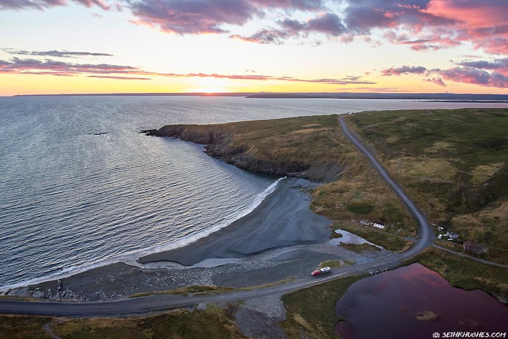 Mistaken Point, Newfoundland, Canada