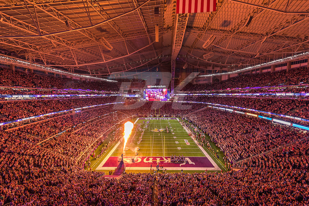 Minnesota Vikings vs. New York Giants on October 3, 2016 at U.S. Bank Stadium in Minneapolis, Minnesota.  Photo by Ben Krause/Minnesota Vikings