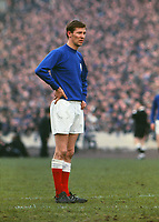 Fotball<br /> Foto: Colorsport/Digitalsport<br /> NORWAY ONLY<br /> <br /> Football - 1969 Scottish FA Cup Final - Celtic 4 Rangers 0<br /> <br /> Ranger's striker Alex Ferguson during the game at Hampden Park, Glasgow. <br /> <br /> Ferguson was blamed for one of the goals and his performance is believed to have contributed to him leaving the club soon after.