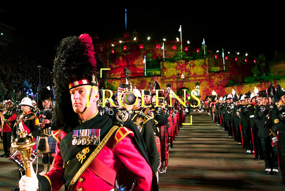 THE ROYAL EDINBURGH MILITARY TATTOO 2011.<br />