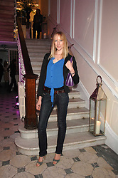 JADE PARFITT at a party to launch Links of London's Watch Collection at Il Bottacio, 9 Grosvenor Place, London on 25th September 2007.<br />