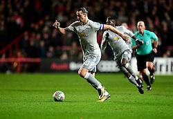 Zlatan Ibrahimovic of Manchester United  - Mandatory by-line: Joe Meredith/JMP - 20/12/2017 - FOOTBALL - Ashton Gate Stadium - Bristol, England - Bristol City v Manchester United - Carabao Cup Quarter Final