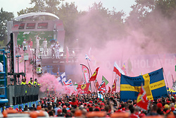 September 2, 2018 - Monza, Italy - Motorsports: FIA Formula One World Championship 2018, Grand Prix of Italy, .Fans  (Credit Image: © Hoch Zwei via ZUMA Wire)