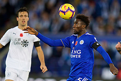 LEICESTER, ENGLAND - Saturday, November 10, 2018: Leicester City's Wilfred Ndidi during the FA Premier League match between Leicester City FC and Burnley FC at the King Power Stadium. (Pic by David Rawcliffe/Propaganda)