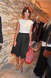 PIXIE GELDOF at a party to celebrate the launch of the Vogue Fashion's Night Out held at Mulberry, Bond Street, London on 6th September 2012.