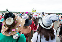 05/08/2012  Punters at the final day of the Galway Races Summer festival . Photo: