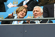 Picture by Paul Chesterton/Focus Images Ltd.  07904 640267.03/12/11.Man City legend Mike Summerbee before the Barclays Premier League match at the Etihad Stadium, Manchester.
