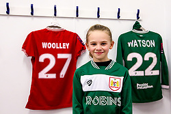 Bristol City Women mascot - Mandatory by-line: Robbie Stephenson/JMP - 24/03/2019 - FOOTBALL - Stoke Gifford Stadium - Bristol, England - Bristol City Women v Everton Ladies - FA Women's Super League