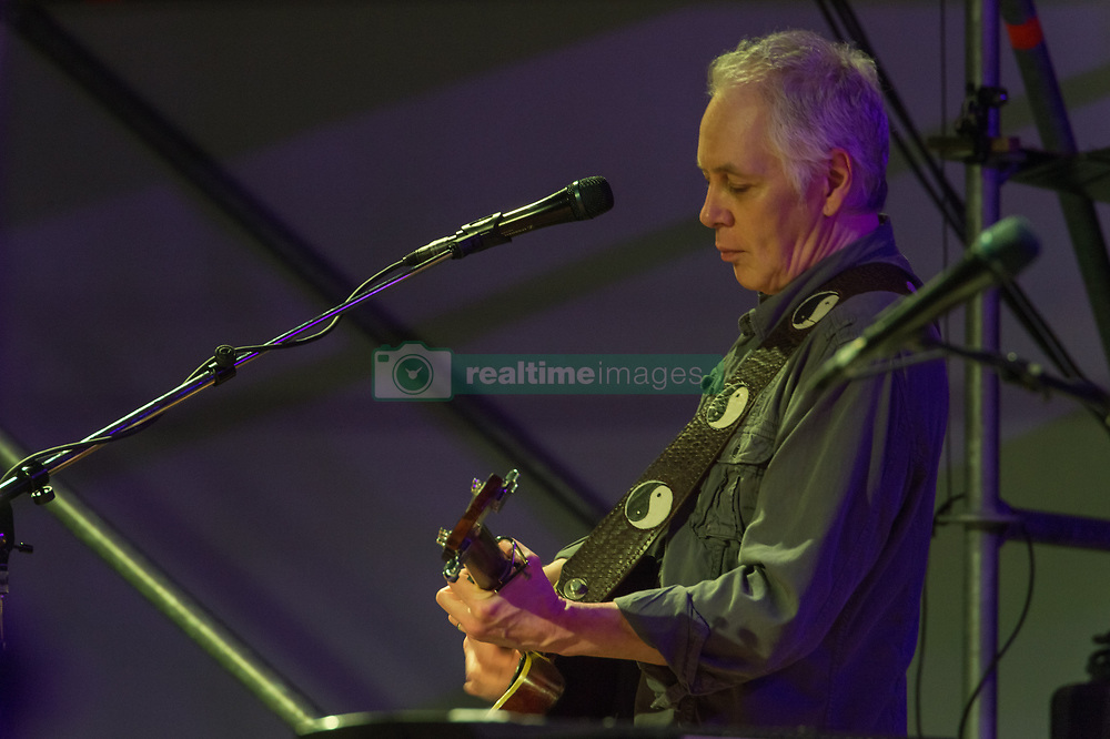 July 2, 2018 - Rome, Italy, Italy - The legendary rock musician has performed, the only Italian date, at the Casa del Jazz in Rome on 2/7/2018 in the musical review 'I Concerti nel Parco'. Nash first with the Hollies then with Crosby, Stills and Young has collected many hits with songs passed to history. With him on stage Shane Fontaine on guitar and Todd Caldwell on keyboards. Shane Fontaine  (Credit Image: © Leo Claudio De Petris/Pacific Press via ZUMA Wire)