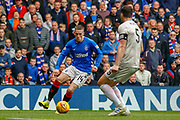 Ryan Kent of Rangers FC during the Ladbrokes Scottish Premiership match between Rangers and Aberdeen at Ibrox, Glasgow, Scotland on 27 April 2019.