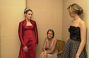 Tamara Ecclestone, Lady Isabella Hervey and Alexandra  Seilern. Getting ready the day before the Crillon Haute Couture Ball. Crillon Hotel, Paris.1 December 2000. © Copyright Photograph by Dafydd Jones 66 Stockwell Park Rd. London SW9 0DA Tel 020 7733 0108 www.dafjones.com