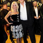 NLD/Amsterdam/20121019- Televiziergala 2012, Judith Osborn en partner Bert van der Veer