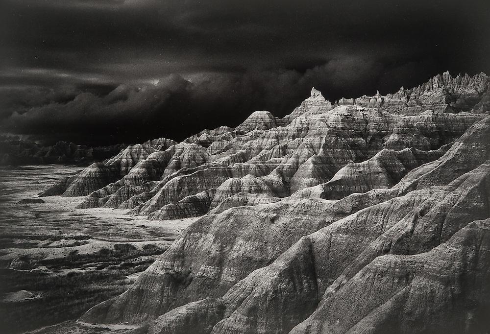 Thunderstorm, Badlands
