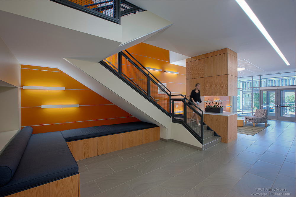 Interior image of Cassell Hall Dorms at American University in Washington  DC by Jeffrey Sauers of.