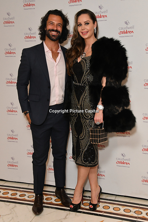 Christian Vit and Nina Naudstal attends the Children's charity hosts fashion and beauty lunch event, with live entertainment at The Dorchester, London, UK. 12 October 2018.