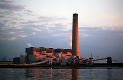 UNITED KINGDOM MEDWAY 22JUN09 - Kingsnorth coal-fired power station in Kent during sunrise.....jre/Photo by Jiri Rezac / Greenpeace....© Jiri Rezac 2009