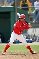 15 February 2007: Kyle O'Brien.  Indiana State Sycamores gave up the first game of the double-header by a score of 16-6 to the Illinois State Redbirds at Redbird Field on the campus of Illinois State University in Normal Illinois.