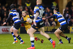 Jordan Williams of Bristol Rugby in action - Rogan Thomson/JMP - 18/11/2016 - RUGBY UNION - Recreation Ground - Bath, England - Bath Rugby v Bristol Rugby - Aviva Premiership.