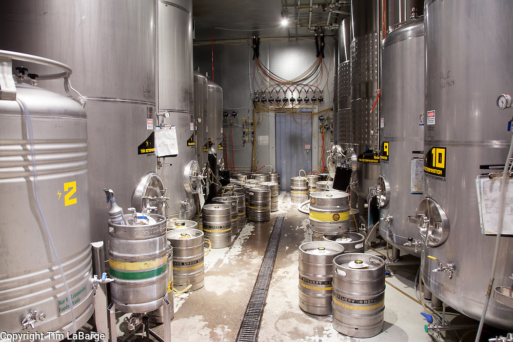 Hopworks Urban Brewery in Portland, Oregon. Image by Tim LaBarge