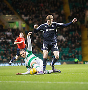 Dundee&rsquo;s Craig Wighton and Celtic's Erik Sviatchenko - Celtic v Dundee - Ladbrokes Scottish Premiership at Dens Park<br /> <br />  - &copy; David Young - www.davidyoungphoto.co.uk - email: davidyoungphoto@gmail.com