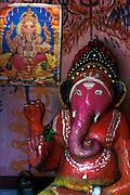 Sri Lanka..Pink Ganesh and calendar