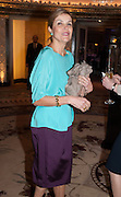 HAYAT PALUMBO, The Foreign Sisters lunch sponsored by Avakian in aid of Cancer Research UK. The Dorchester. 15 May 2012