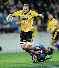 Wellington-Super Rugby, semi final, Hurricanes v Brumbies