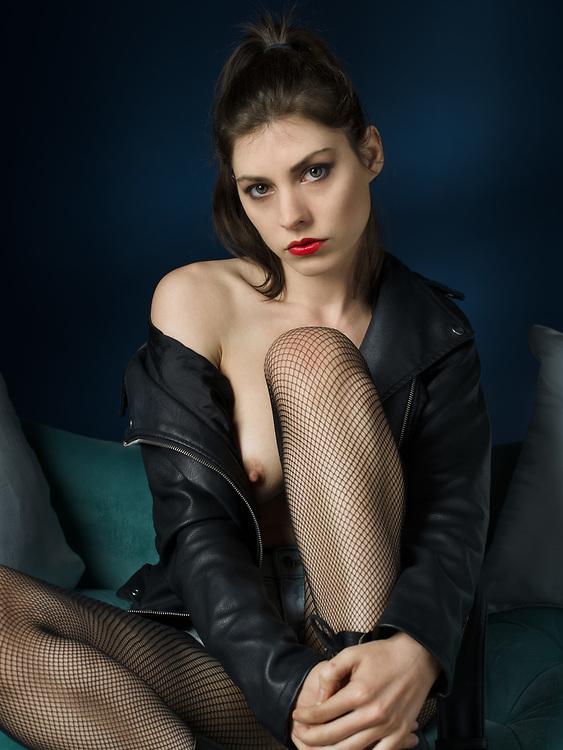 Dorrie Mack, model, muah