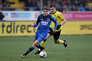 (L-R) *Thomas Ouwejan* of AZ Alkmaar, *Damian van Bruggen* of VVV Venlo