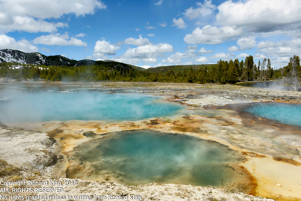 Yellowstone National Park landscape images, Wyoming
