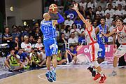 DESCRIZIONE : Campionato 2014/15 Serie A Beko Dinamo Banco di Sardegna Sassari - Grissin Bon Reggio Emilia Finale Playoff Gara6<br /> GIOCATORE : David Logan<br /> CATEGORIA : Tiro Tre Punti Three Point Controcampo<br /> SQUADRA : Dinamo Banco di Sardegna Sassari<br /> EVENTO : LegaBasket Serie A Beko 2014/2015<br /> GARA : Dinamo Banco di Sardegna Sassari - Grissin Bon Reggio Emilia Finale Playoff Gara6<br /> DATA : 24/06/2015<br /> SPORT : Pallacanestro <br /> AUTORE : Agenzia Ciamillo-Castoria/L.Canu