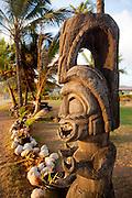 Tiki, Kapaa Beach Park, Kauai, Hawaii