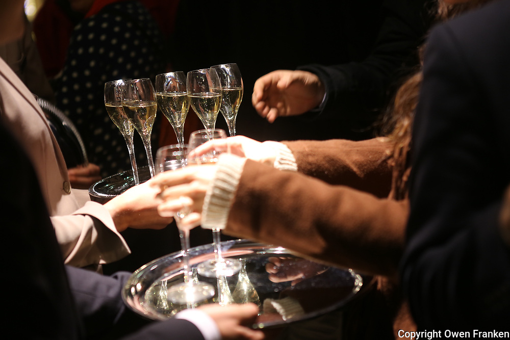 gala party with Champagne, in Paris