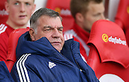 Sunderland manager Sam Allardyce prior to the Barclays Premier League match at the Stadium Of Light, Sunderland<br /> Picture by Simon Moore/Focus Images Ltd 07807 671782<br /> 11/05/2016